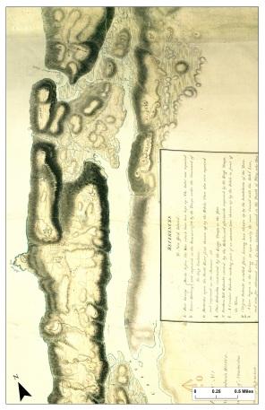 1782 Map of manhattan